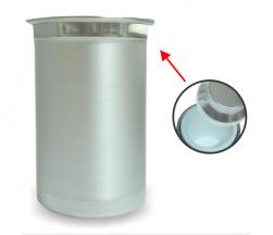 Porta-latão de alumínio personalizado - Com isopor