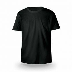 Camiseta Gola Redonda Poliviscose - Preta