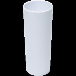 Copo Long Drink de Acrílico 350ml branco personalizado